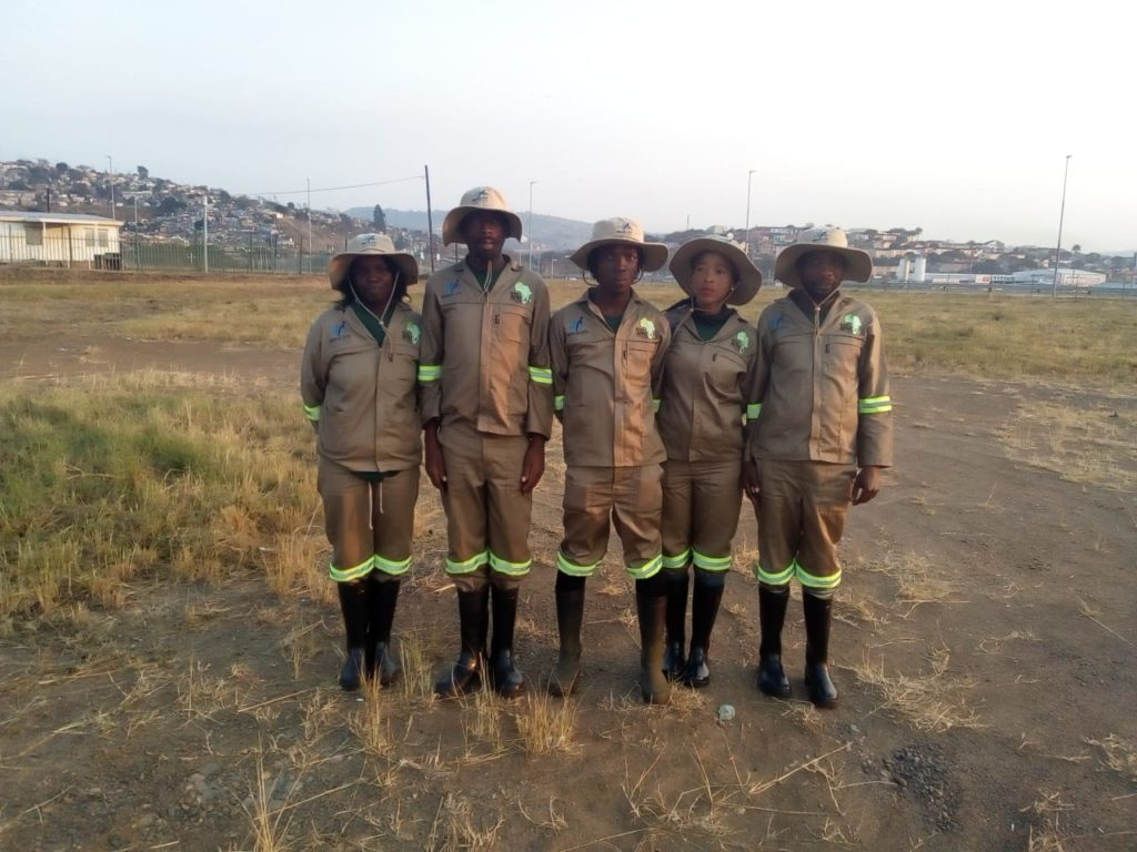 New Branded Uniforms For Green Africa Staff