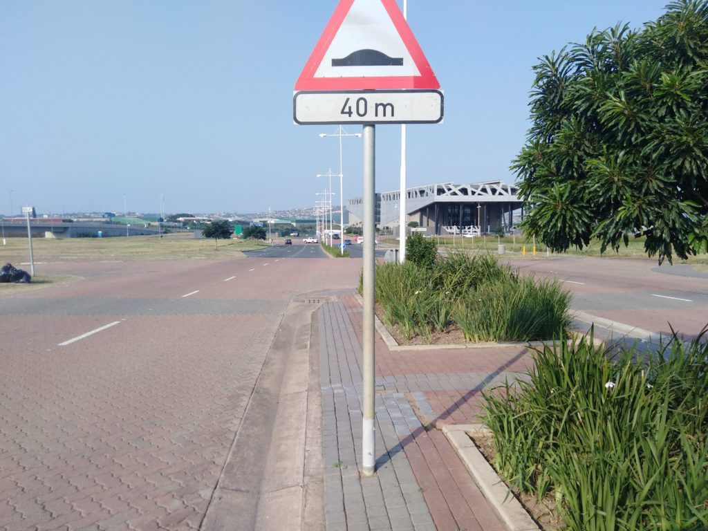Boulevard Signage Repaired