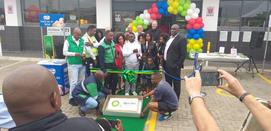 Official Opening Of The Bridge City BP Filling Station